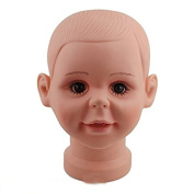 Dreambeauty Children Mannequin Manikin Head for Wig Hats Display Show Stand Model Mannequins