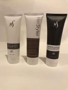 Herstyler Argan Oil Shampoo, Argan Oil Conditioner and Heat Protective Hair Cream Set