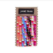 Jane Tran Geometric Print Bobby Pin Sets