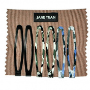 Jane Tran Assorted Camo and Solids Clip Set