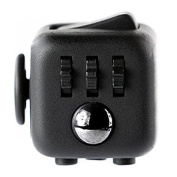 Fidget Cube Relieves Stress for Children and Adults Black