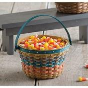 Longaberger Farm Miniature Apple Basket Fall Weave