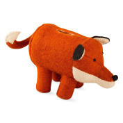 Tag, Handmade Fox Felt Bank