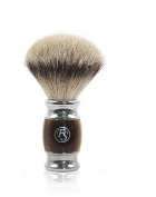 Frank Shaving Silver Tip Silvertip Ribbon 22 mm with Chrome-Plated Handle With Trim