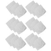 COM-FOUR ® 18 Facial Cleansing Wipes Microfibre in Economy Pack