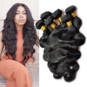 Silky Body Wave Brazilian Human Hair 3 Bundles 100% 9a Unprocessed Virgin Brazilian Hair Body Wave Hair Extensions Bundles