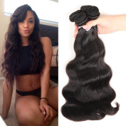 Colourful Queen Brazilian Virgin Hair Body Wave Remy Human Hair 3Bundles Weaves 7A Unprocessed Hair Extensions Natural Colour 14 16 46cm