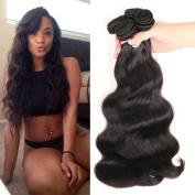 Colourful Queen Brazilian Virgin Hair Body Wave Remy Human Hair 3Bundles Weaves 7A Unprocessed Hair Extensions Natural Colour 14 16 46cm