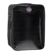Wig Travel Boxes-Crocodile Print Large 46cm Box Head Not Included)