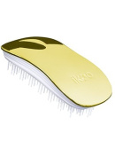 ikoo home metallic collection - detangling brush - white bristle