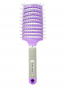 Charmvit Professional Detangling & Styling Paddle Hair Brush - Purple