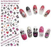 Nail Art Water Transfer Stickers Cartoon - DS098 Nail Sticker Tattoo - FashionDancing