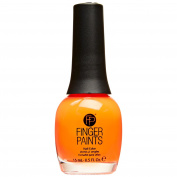 FingerPaints Nail Colour Iconic Orange Neon