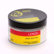 Essential Oil Infused Body Butter - 120ml (Lemon) by Blumsi