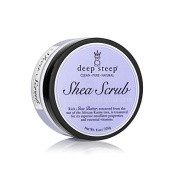 Deep Steep Shea Butter Sugar Scrub, French Lavender, 8 Fluid Ounce