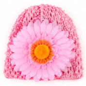 Sunfei Toddlers Infant Baby Girl Chrysanthemum Hollow Out Hat Headwear Hat