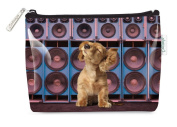 Catseye Small Cosmetic Bag - Music Pup