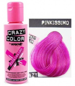 Renbow X2 Crazy Colour Conditioning Hair Colour Cream 100ml - Pinkissimo