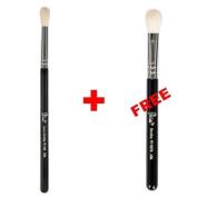 Bundle - Petal Beauty Tapered Blending makeup Brush + FREE $9 Value Eye Blending Brush