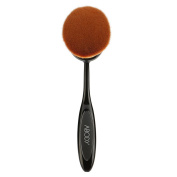 Abody 1pc Oval Makeup Brush, Cosmetic Foundation Cream Powder Blush Professional Makeup Tool Vary Size