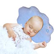 Nursing & Decorative Baby Pillow for Newborns and Infants Cloud Shape Blue