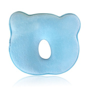 Baby Pillow For Memory Foam Baby Pillow - And Head Positioner Neck Support Prevent Baby Flat Head (0-12 Months)
