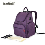 New Baby Nappy Backpack 210D Nylon Heavy Duty Mommy Backpack Nappy Changing Bag