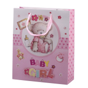 "2pcs x Premium Large Pop-Up Baby Gift Bags 32x26cm (or 12.6""x10.23"") Guaranteed GB5-3"