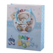 "2pcs x Premium Large Pop-Up Baby Gift Bags 32x26cm (or 12.6""x10.23"") Guaranteed GB5-4"