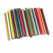 Dreamtop 30X Glitter Adhesive Glue Sticks Craft Hot Glue for Hobby Crafting Woodworking Glue Gun