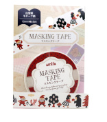 Washi tape Amifa Snow White and Friends Masking Deco Tape Standard.