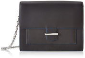 HUGO Women's Phila-M 10193730 01 Clutch Bag, Black (Black), One Size