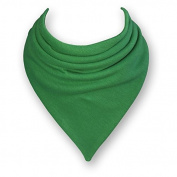 Baby Bandana Dribble Bib in GRASS GREEN by Babble Kids