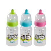 Basilic BPA Free PP Anti Colic Standard Neck Feeding Bottle (120ml