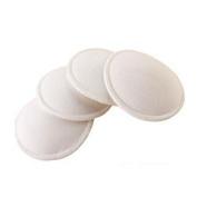 VWH 4pcs Anti-Overflow Pads Washable Cotton and Sponge Nursing Breast Pads