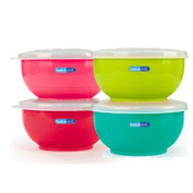 Baby Due Colours & Flavours Bowls Stainless Steel (2UDS.)