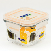 Glasslock, GL-544, 3x 210ml, Square glass food container Baby Type