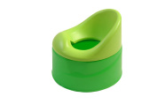 King Bear Learning Potty with Removable Bowl Green 3 Pieces