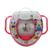 Winnie the Pooh - REDUCER Mini Toilet Disney Baby Minnie Baby with Handles Pink