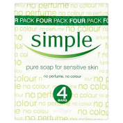Simple Pure Soap 4 x 125g
