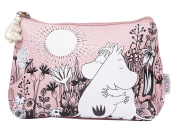 Pink Moomins Love Make Up Bag from Disaster Designs
