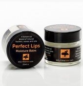 Perfect Lips moisture balm by Billy in the Tree. 100% natural botanical blend of moisture rich butters, waxes and oils 15ml