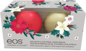 EOS Winterberry and Vanilla Bean Holiday 2016 Organic Lip Balm Sphere 2 Pack Set