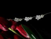 Bridal Flower Leaf Side Chain Headpiece : SP11