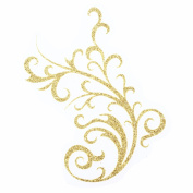 Ejiubas 1 Pcs Imagic Golden Wedding Hair Paster for ladies,Maple,Flower,Leaves,ect