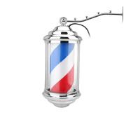 KIKI NEW GAIN Mini Barber Pole, Barbershop Pole, Φ15cm