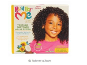 Just For Me- No-Lye Texture Softener Kit For Kids - 1 Application