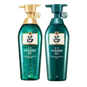 Ryoe Korean Cheong ah mo Scalp Deep cleasing Shampoo + conditioner Green [13.5 OZ] [400ml]