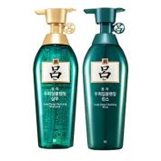 Ryoe Korean Cheong ah mo Scalp Deep cleasing Shampoo + conditioner Green [13.5 OZ] [400ml]
