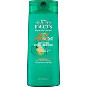 Garnier Hair Care Fructis Grow Strong 2-In-1 Shampoo & Conditioner, 22 Fluid Ounce